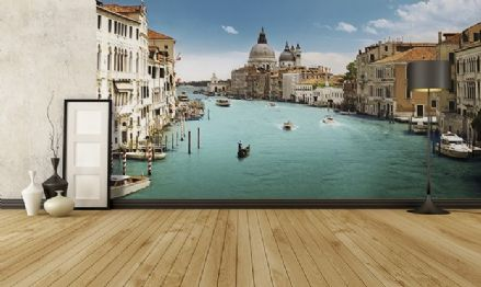 Venice Canal Grande wall wallpaper